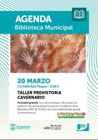 Taller Prehistoria - Cavernario