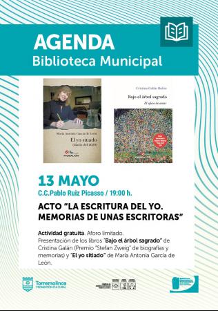 """Presentación de libros - """"LA ESCRITURA DEL YO. MEMORIAS DE UNAS ESCRITORAS"""""""