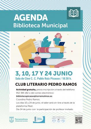 CLUB LITERARIO - PEDRO RAMOS - SESIÓN ONLINE