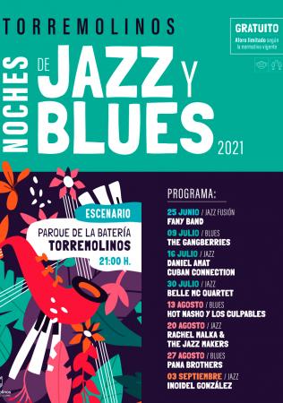NOCHES DE JAZZ Y BLUES - RACHEL MALKA & THE JAZZ MAKERS