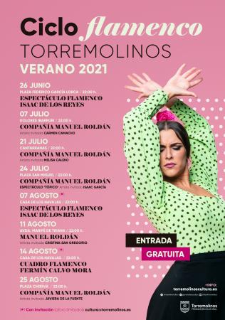 Ciclo de Flamenco - Espectáculo de Danza-Flamenco [Tópico], de Manuel Roldán