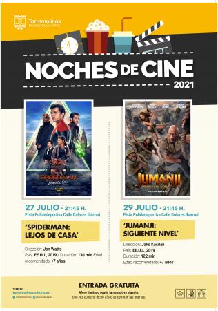 NOCHES DE CINE - SPIDERMAN: LEJOS DE CASA
