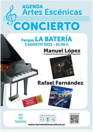 CICLO MÚSICA CLÁSICA - CONCIERTO DE PIANO