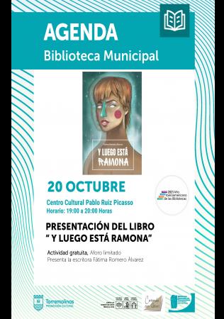"""Presentación del libro """"Y luego está Ramona"""" de Fátima Romero Álvarez"""