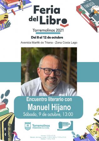 Encuentro literario con Manuel Hijano
