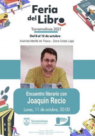 Encuentro literario con Joaquín Recio