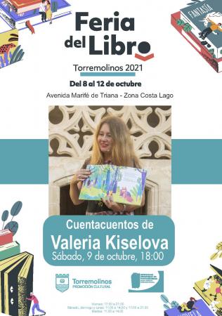 Cuentacuentos con Valeria Kiselova