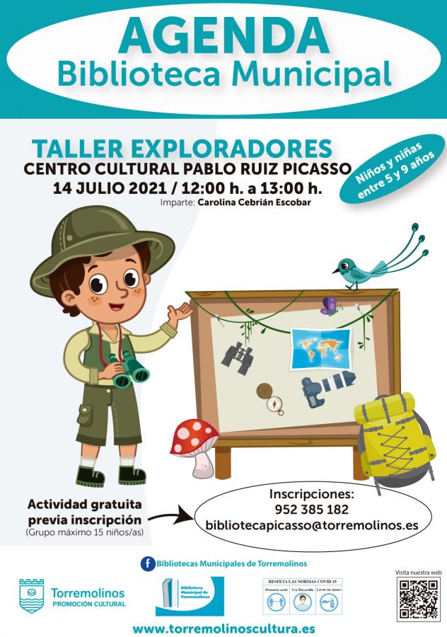 TALLER DE EXPLORADORES