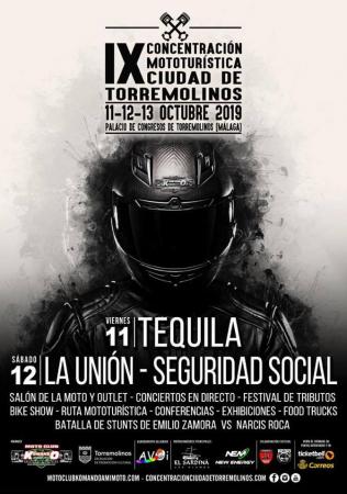 """IX CONCENTRACIÓN MOTOTURÍSTICA """"CIUDAD DE TORREMOLINOS"""""""