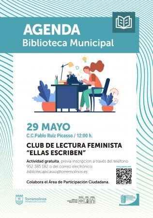 CLUB DE LECTURA FEMINISTA - ELLAS ESCRIBEN