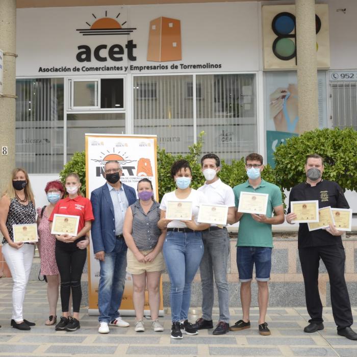 La Cafetería Restaurante Ávila recibe el primer premio de la Ruta de la Tapa de la Abuela de Torremolinos