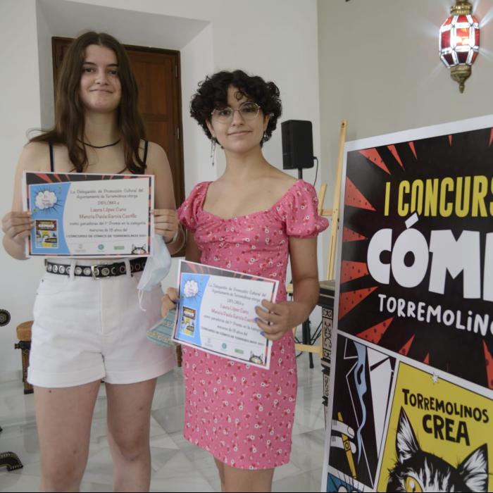 El área de Cultura de Torremolinos entrega los premios del I Concurso de Cómics