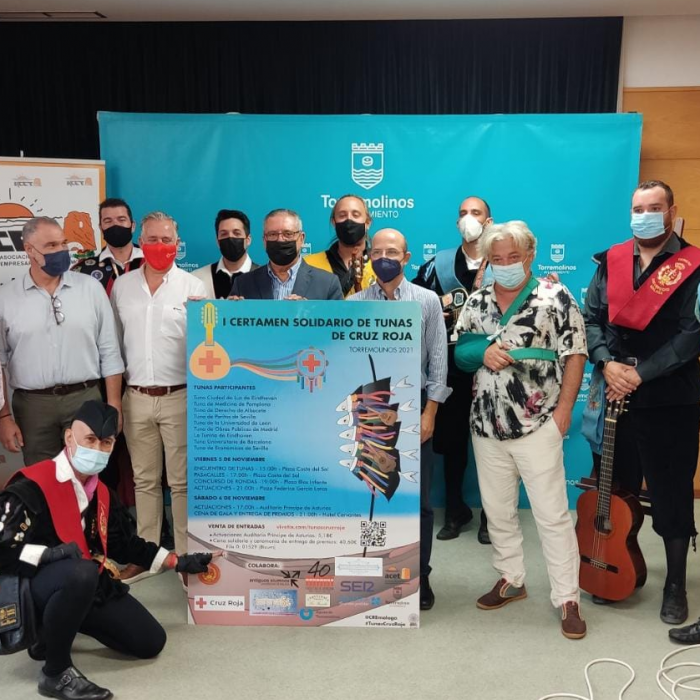 A dozen tunas will fill Torremolinos with music in the first Red Cross solidarity contest