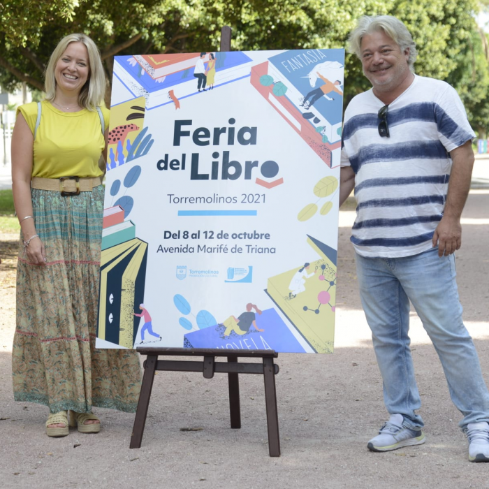 Torremolinos celebra su Primera Feria del Libro del 8 al 12 de octubre