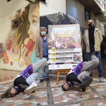 'Torremolinos Street Art' acerca el arte callejero a los jóvenes y las jóvenes del municipio