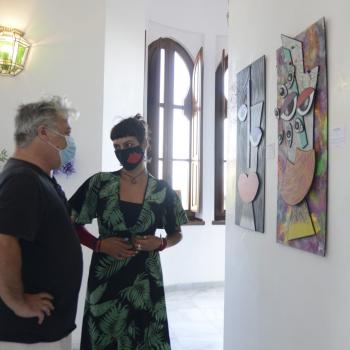 Explosión de color con la nueva muestra artística de la Casa de Los Navajas de Nela Dip