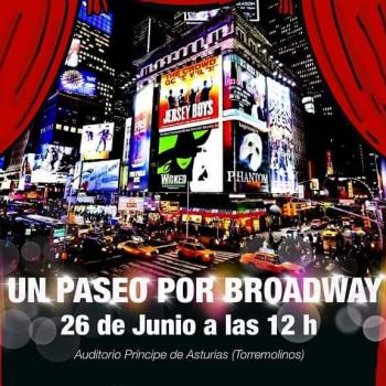 """El Auditorio de Torremolinos acoge el teatro musical """"Un paseo por Broadway"""""""