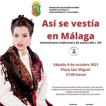 Bailes, pasarela y exposición para descubrir cómo se vestía en la Málaga del siglo XIX